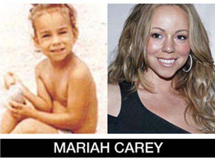 Um post quase definitivo de antes e depois de famosos 86