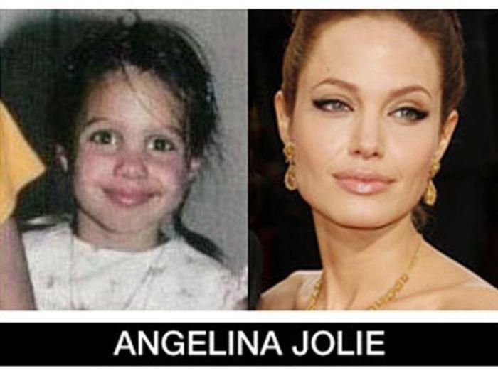 Um post quase definitivo de antes e depois de famosos 87