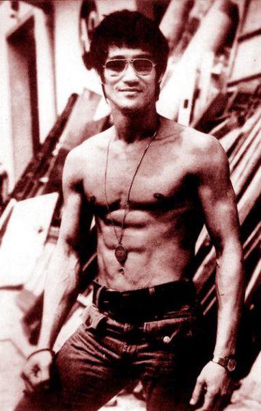 Fotografias raras de Bruce Lee 12