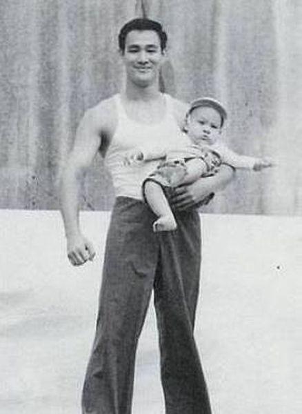 Fotografias raras de Bruce Lee 26