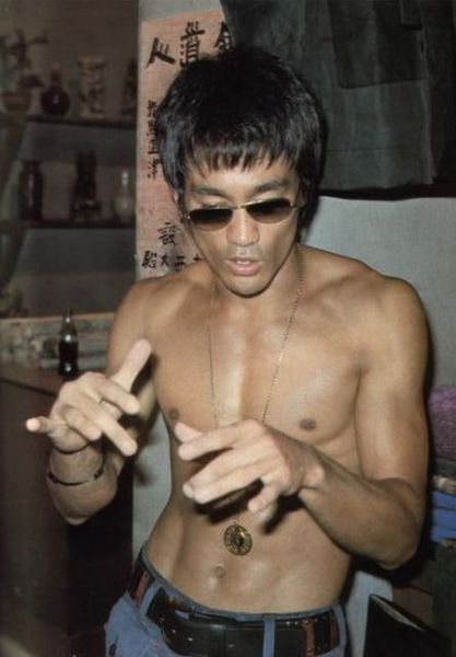 Fotografias raras de Bruce Lee 36