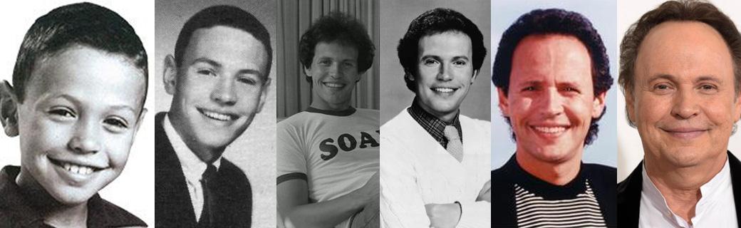 Surpreendentes fotos mostrando como 71 celebridades envelheceram ao longo dos anos 33