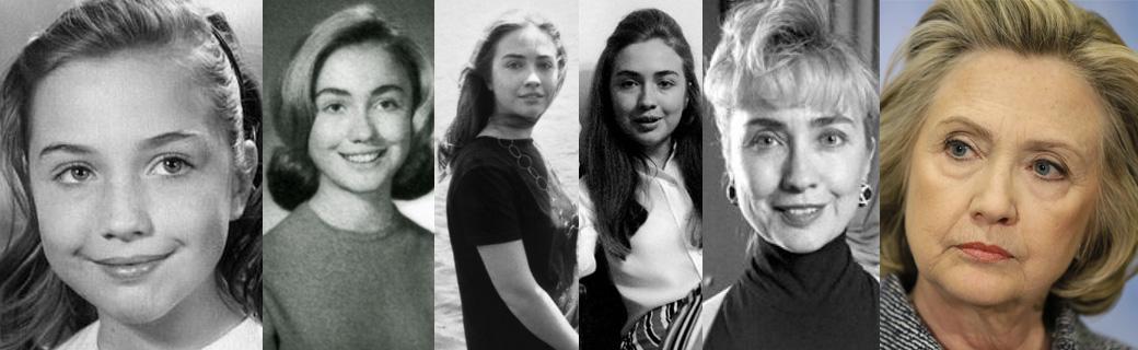 Surpreendentes fotos mostrando como 71 celebridades envelheceram ao longo dos anos 45