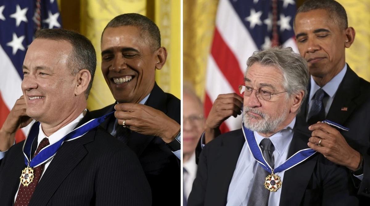Estas foram as 18 celebridades que receberam a Medalha da Liberdade das mãos de Obama