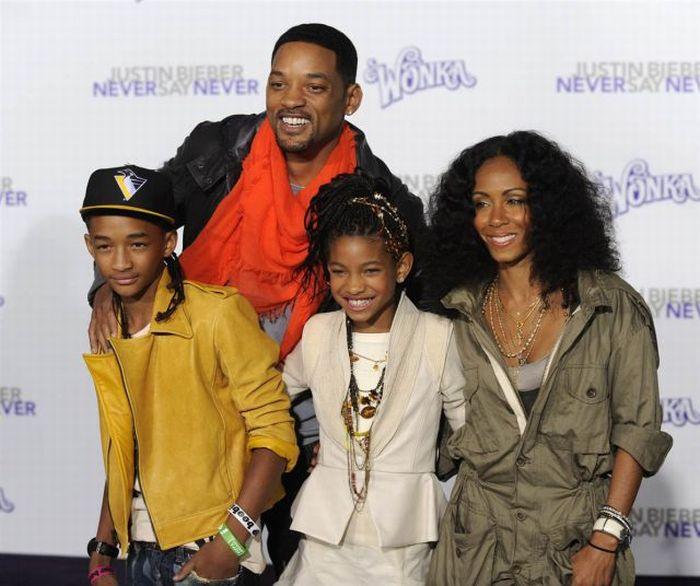 Pais famosos e seus filhos