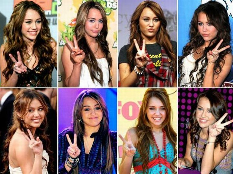 As poses prediletas dos famosos 10