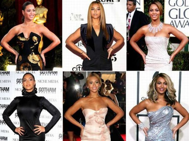 As poses prediletas dos famosos 13
