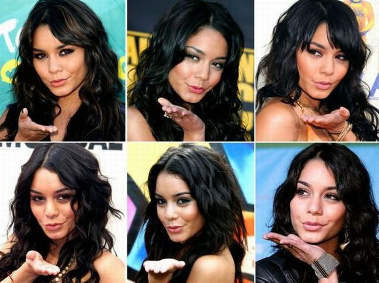 As poses prediletas dos famosos 16