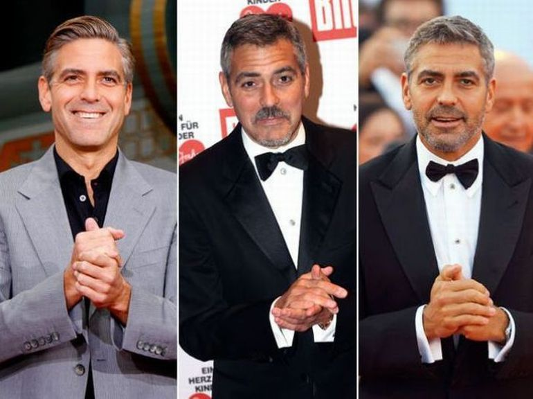 As poses prediletas dos famosos 17