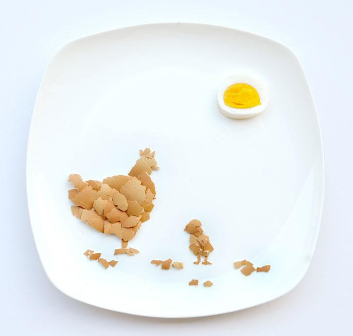 Mais arte com comida por Hong Yi e Ida Skivenes 08