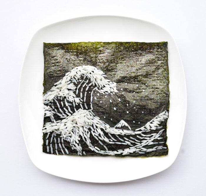 Mais arte com comida por Hong Yi e Ida Skivenes 10