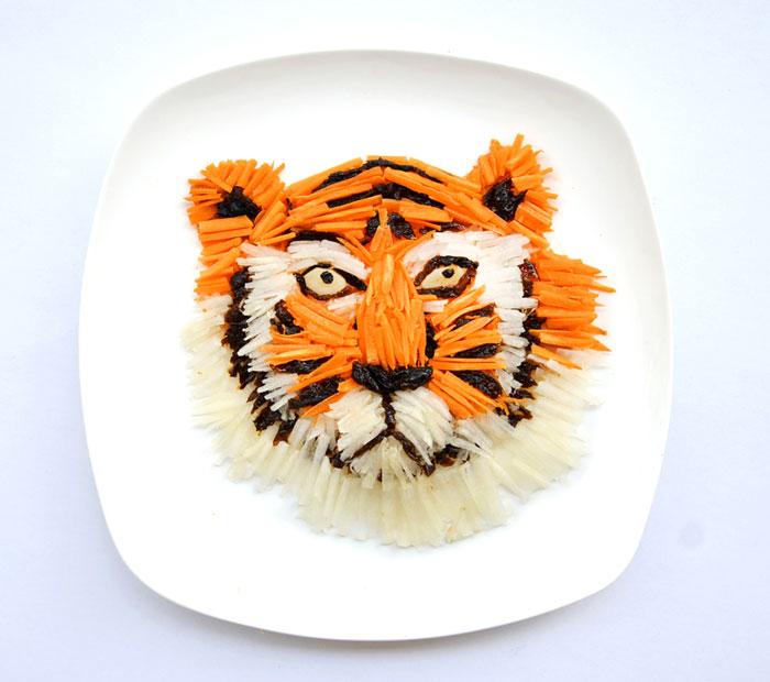 Mais arte com comida por Hong Yi e Ida Skivenes 11