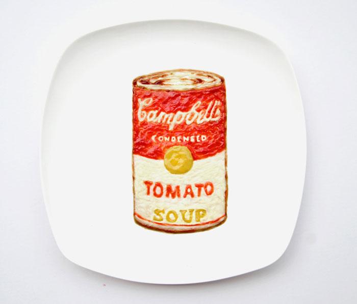 Mais arte com comida por Hong Yi e Ida Skivenes 13