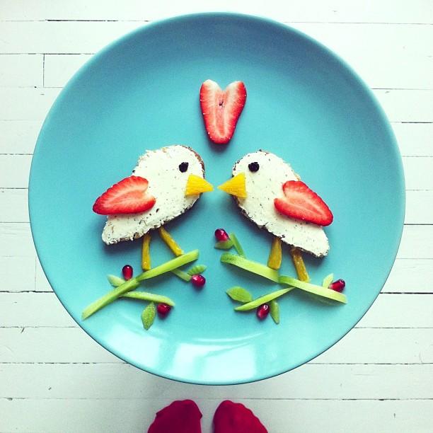 Mais arte com comida por Hong Yi e Ida Skivenes 01