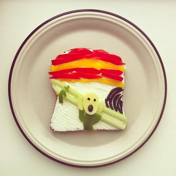 Mais arte com comida por Hong Yi e Ida Skivenes 03