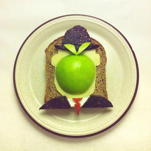 Mais arte com comida por Hong Yi e Ida Skivenes 04