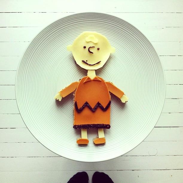 Mais arte com comida por Hong Yi e Ida Skivenes 06