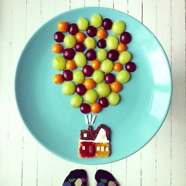 Mais arte com comida por Hong Yi e Ida Skivenes 07