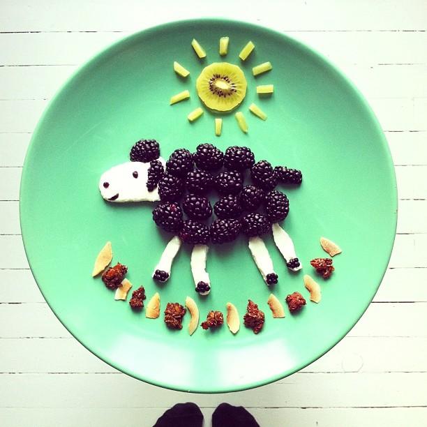 Mais arte com comida por Hong Yi e Ida Skivenes 09