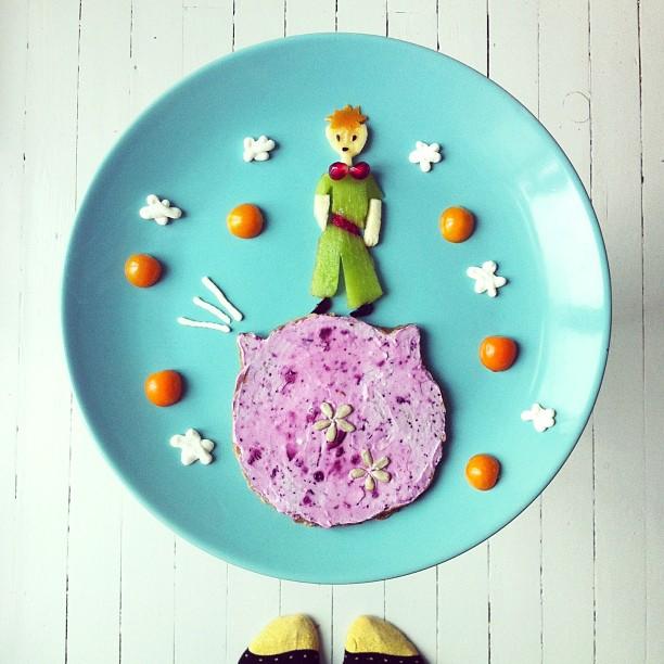 Mais arte com comida por Hong Yi e Ida Skivenes 12