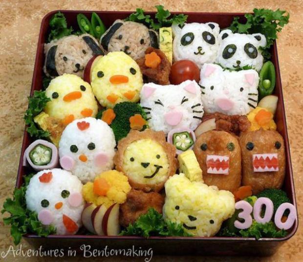 Comida japonesa para crianças 01