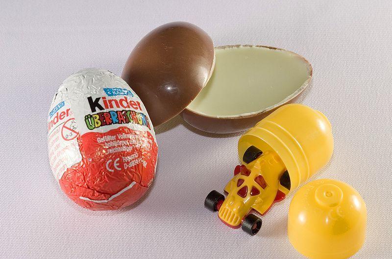 A história de por que não permitem a venda de ovos Kinder nos EUA
