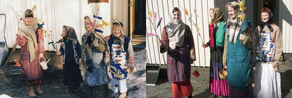 Quatro irmãs adoráveis recriam fotos de seu álbum de infância 14