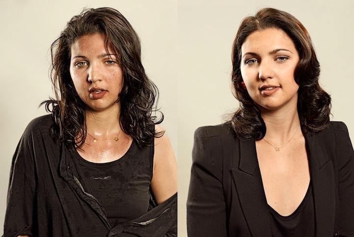 Antes e depois de corredores 01