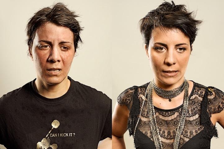 Antes e depois de corredores 03