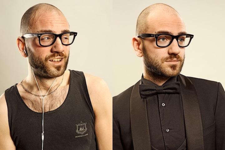 Antes e depois de corredores 18