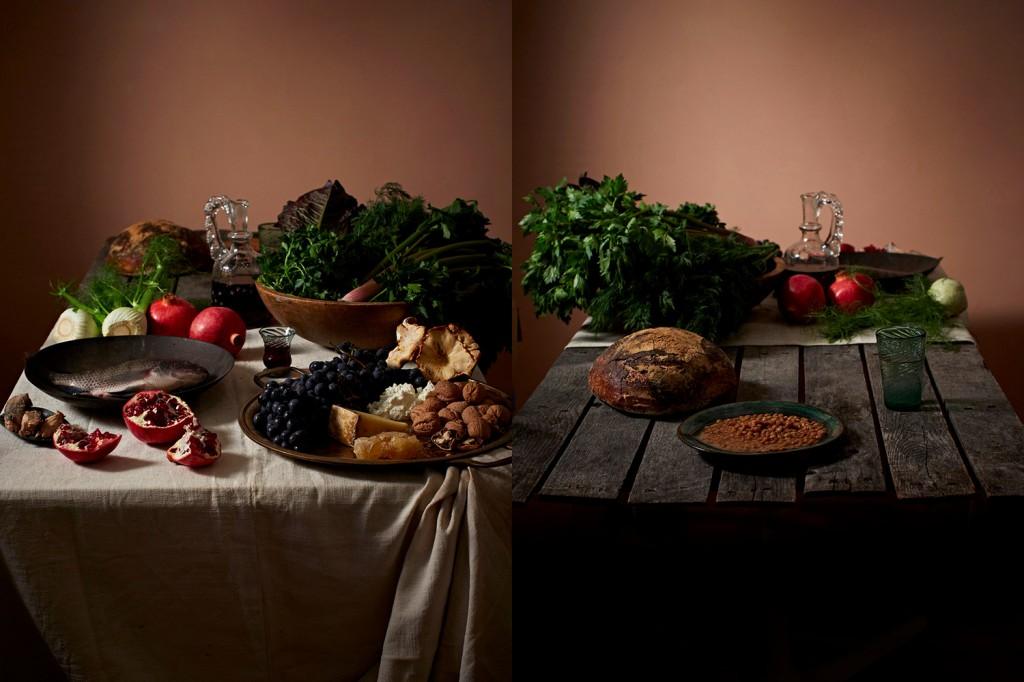 Breve história visual do que comem os ricos e os pobres 01
