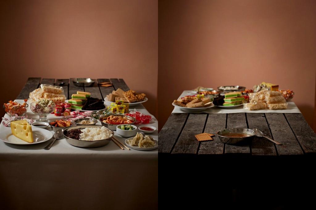 Breve história visual do que comem os ricos e os pobres 06