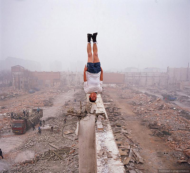 Desafiando a gravidade por Li Wei 02