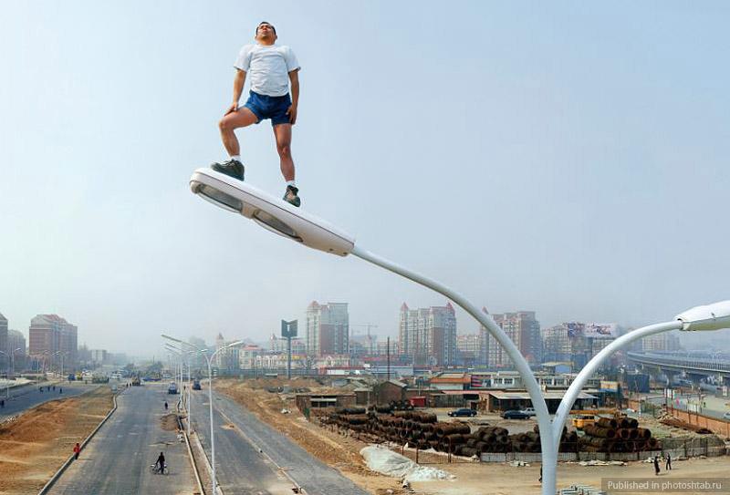 Desafiando a gravidade por Li Wei 03