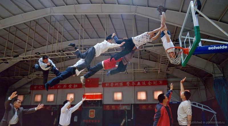 Desafiando a gravidade por Li Wei 06