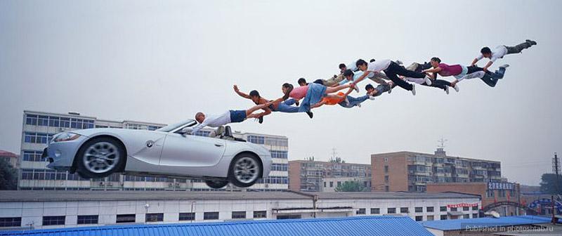 Desafiando a gravidade por Li Wei 08
