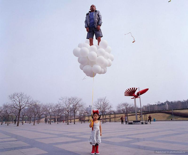 Desafiando a gravidade por Li Wei 09