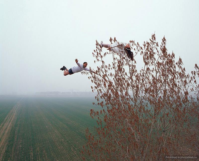 Desafiando a gravidade por Li Wei 11