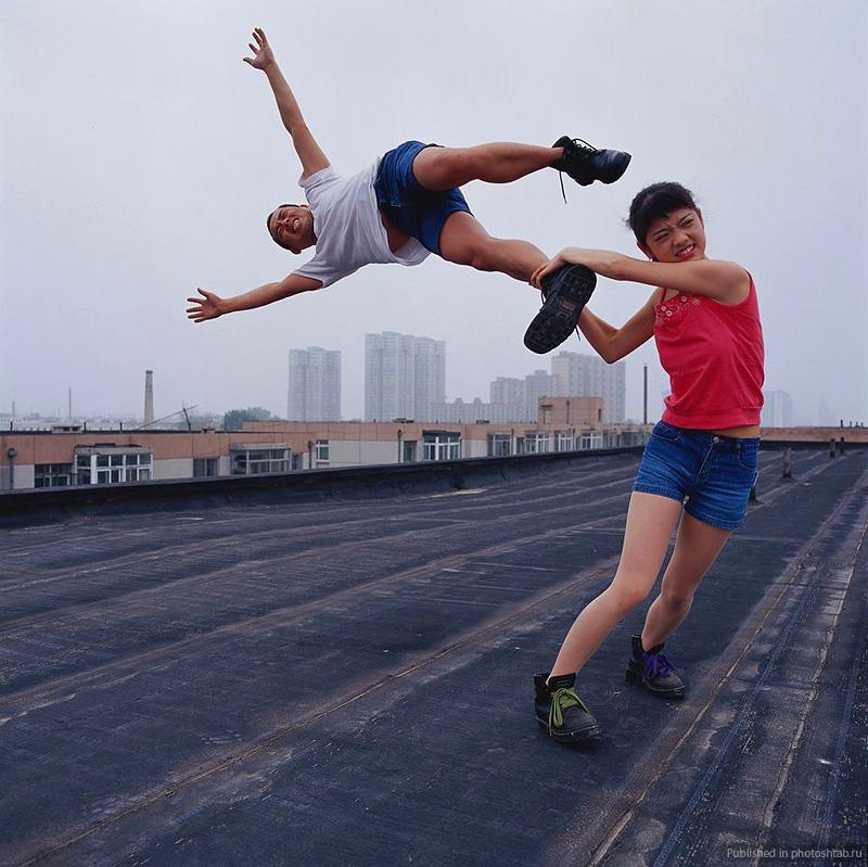 Desafiando a gravidade por Li Wei 12