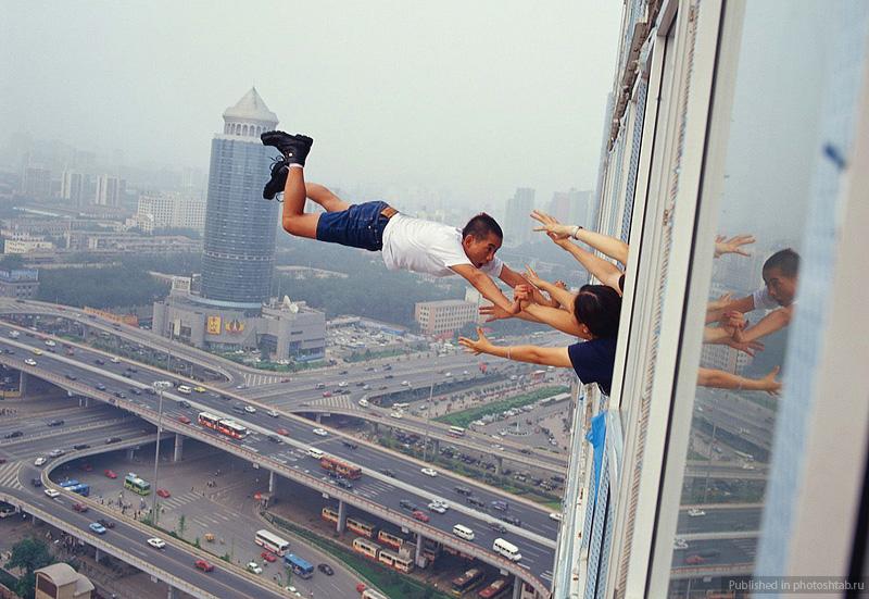 Desafiando a gravidade por Li Wei 13