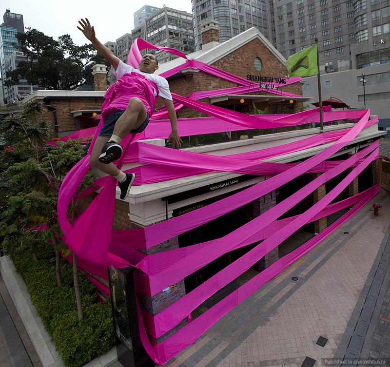 Desafiando a gravidade por Li Wei 15