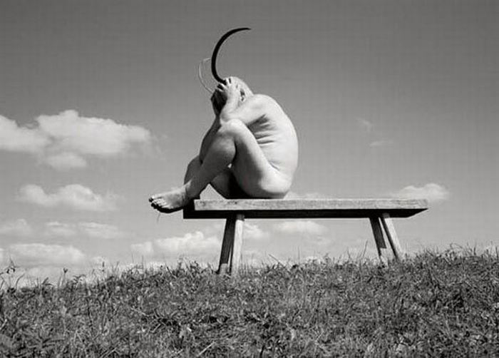 Fotos em P&B fantasticamente estranhas 09