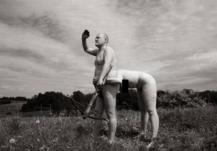 Fotos em P&B fantasticamente estranhas 15