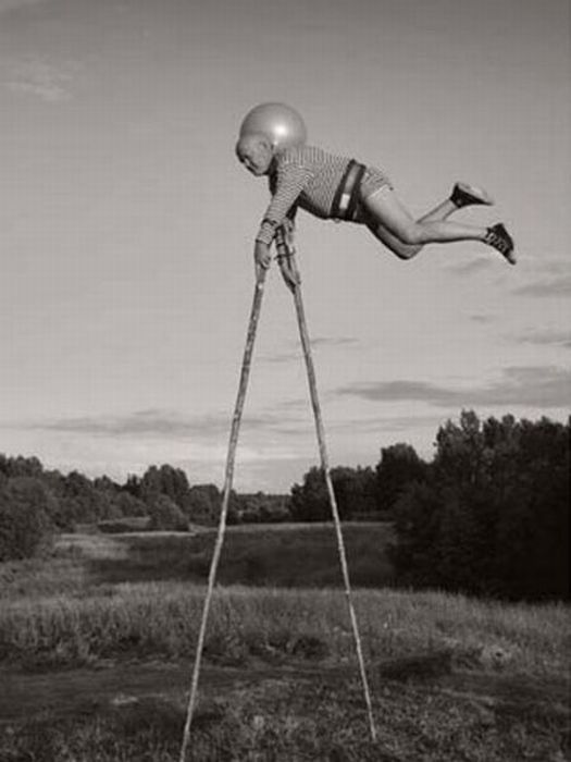 Fotos em P&B fantasticamente estranhas 18