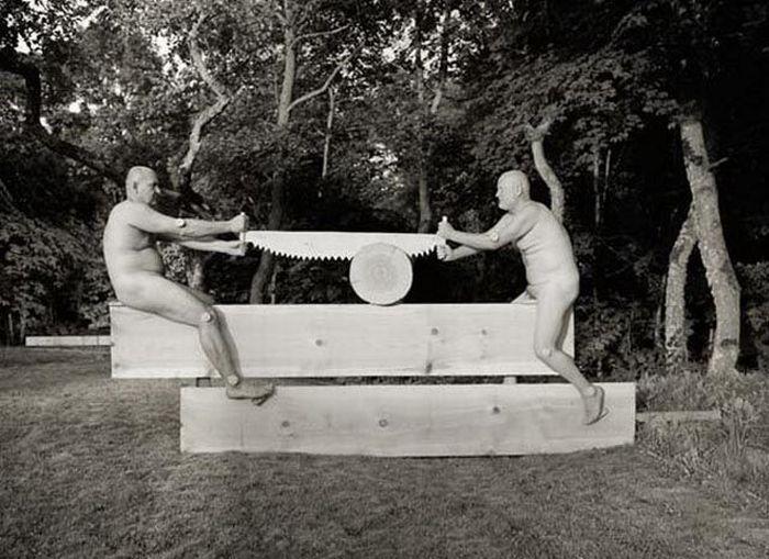 Fotos em P&B fantasticamente estranhas 20