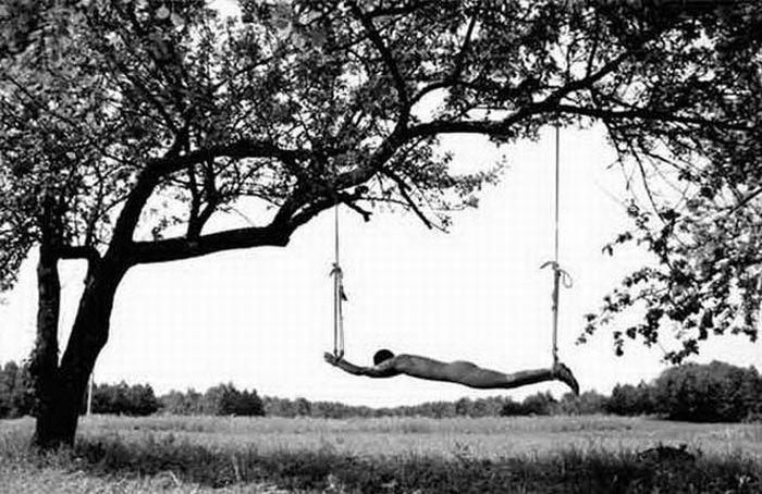 Fotos em P&B fantasticamente estranhas 21