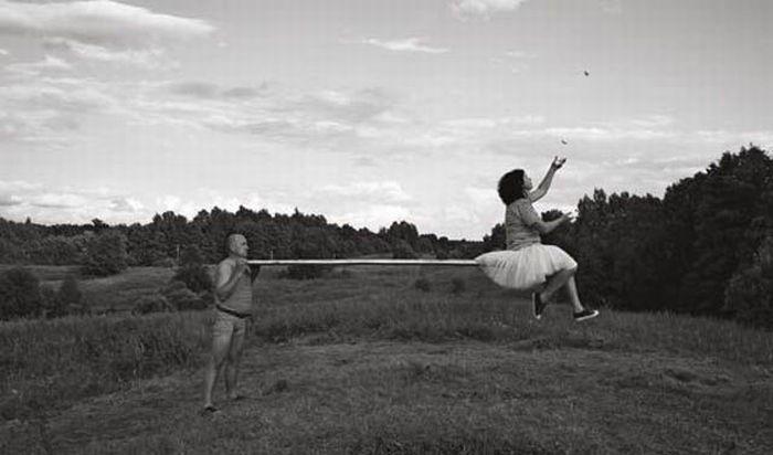 Fotos em P&B fantasticamente estranhas 32
