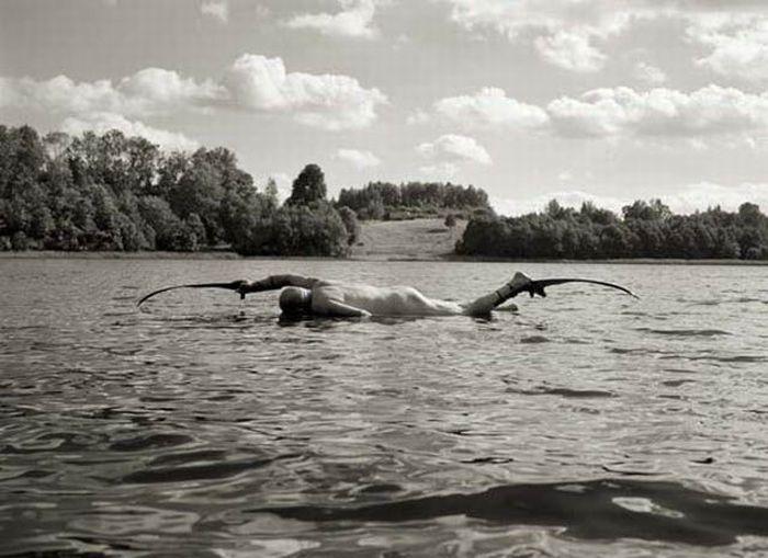 Fotos em P&B fantasticamente estranhas 34