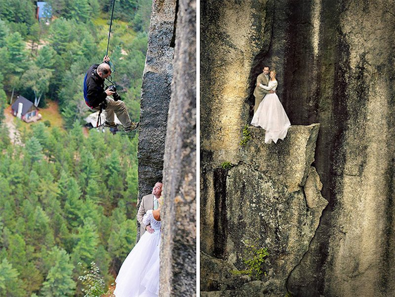 33 fotos que demonstram que ser fotógrafos de casamento não é fácil 04