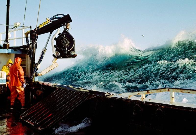 A perigosa aventura da pesca em alto-mar 26